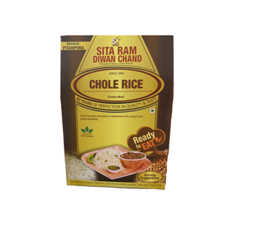 Picture of Sita Ram Diwan Chand Chole With Jeera Rice (Ready To Eat)