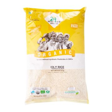 Picture of 24 MANTRA Idly Rice (Certified ORGANIC)