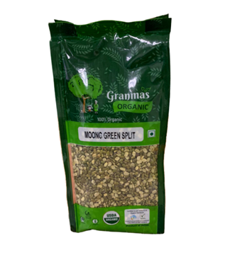 Picture of Granmas Green Moong Split (Certified ORGANIC)