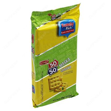 Picture of Britannia 50  50 Maska Chaska Biscuits  (Family Pack)