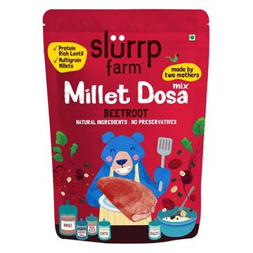 Picture of Slurrp Farm Millet Dosa Mix Beetroot