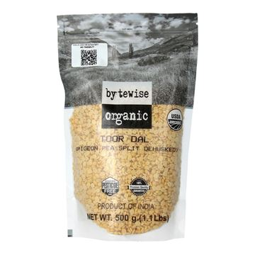 Picture of Bytewise Toor Dal (Certified ORGANIC)