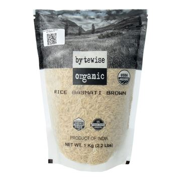 Picture of Bytewise Brown Basmati Rice (Certified ORGANIC)
