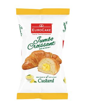 Picture of Eurocake Jumbo Croissant Filled With Custard