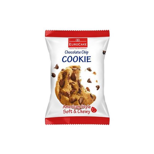 Picture of Eurocake American Style Soft & Chewy Chocolate Chips Cookies