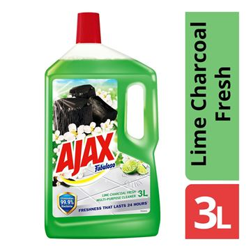 Picture of Ajax Fabuloso Floor Cleaner Lime Charcoal