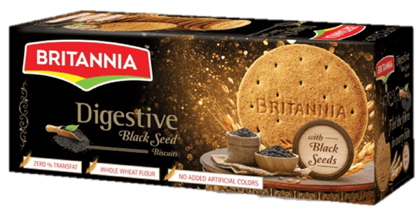 Picture of Britannia Digestive Cookies With Black Seeds