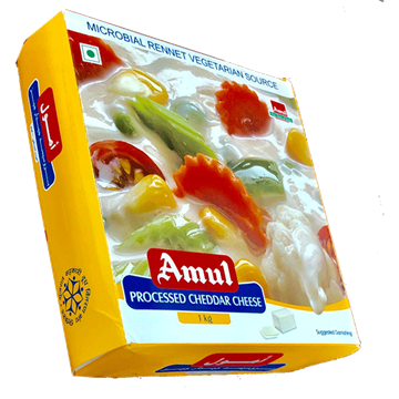 Picture of AMUL Cheddar Cheese Block (Chilled)