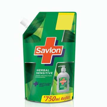 Picture of Savlon Herbal Sensitive Hand Wash Refill