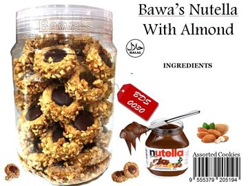 Picture of Bawa's Nutella Almond Cookies