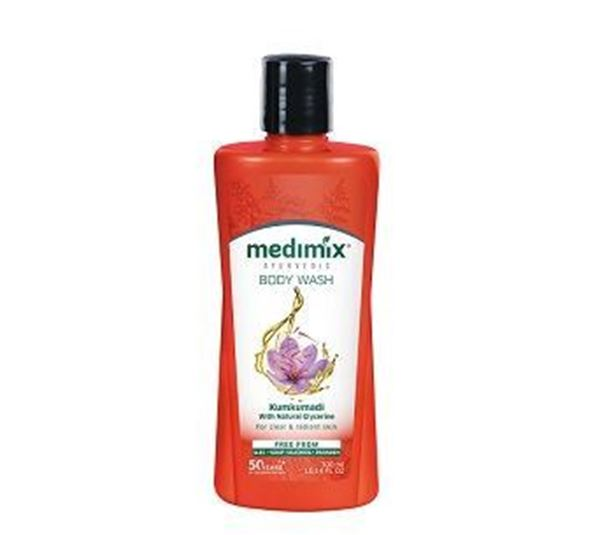 Picture of MEDIMIX Ayurvedic Kumkumadi Body Wash Bottle