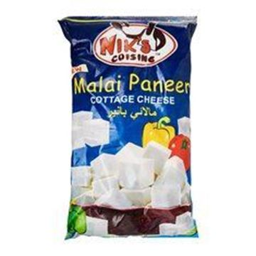 Picture of Niks MALAI Paneer Diced CUBES  (Chilled)