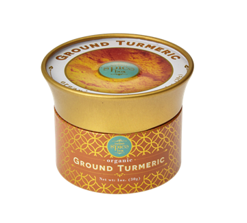 Picture of Indian Spicebox Ground Turmeric Powder (Certified Organic)