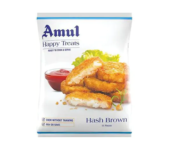 Picture of AMUL Happy Treats Hash Brown (Chilled)