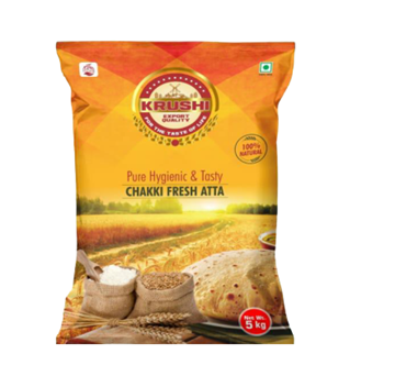 Picture of Krushi Chakki Fresh Wheat Flour (Atta)