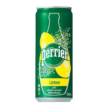 Picture of Perrier Sparkling Natural Water Lemon Tin