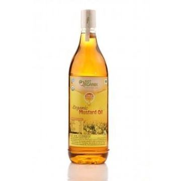 Picture of JUST ORGANIK Mustard Oil (Certified ORGANIC)