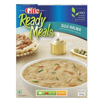Picture of GITS Ready to Eat Suji Halwa