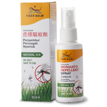 Picture of Tiger Balm Natural Mosquito Repellent Spray