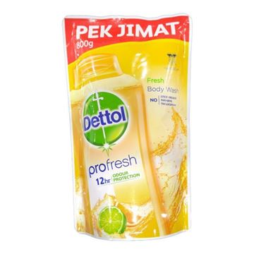 Picture of Dettol Anti Bacterial Shower Gel Fresh Refill