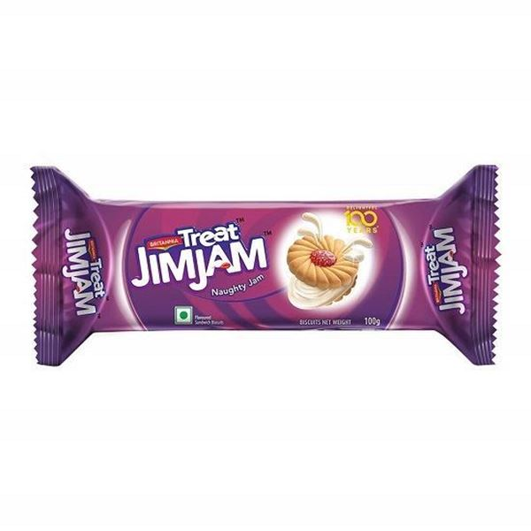 Picture of Britannia Treat Jim Jam Cookies