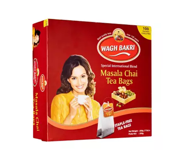 Picture of WAGH BAKRI Instant Masala Chai Tea Bags