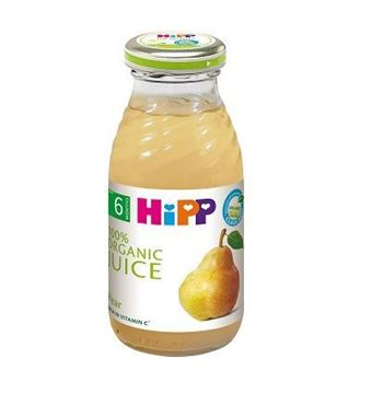Picture of Hipp ORGANIC Pear Juice Glass Bottle