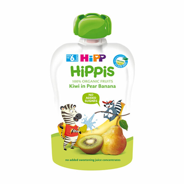 Picture of Hipp ORGANIC Kiwi In Pear Banana Juice Pouch