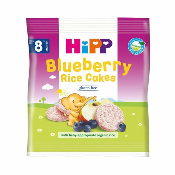 Picture of Hipp ORGANIC Blueberry Rice Cakes