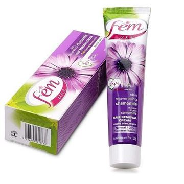 Picture of FEM USA Hair Removal Cream  Rejuvenating Chamomile