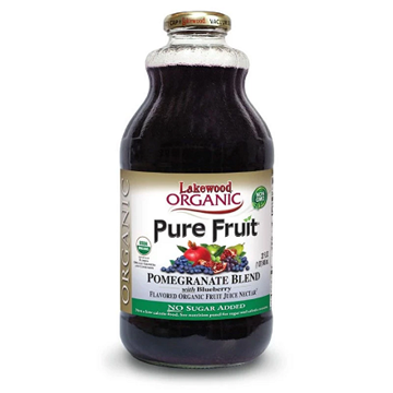 Picture of Lakewood Pomegranate & Blueberry Blend Juice (Certified ORGANIC)