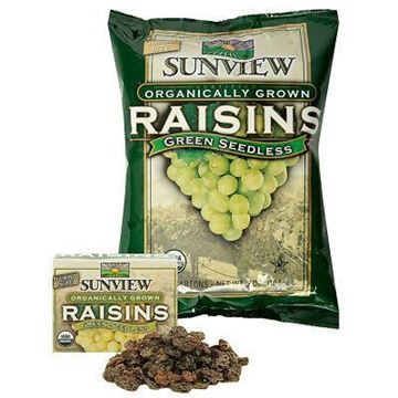 Picture of Sunview Organic Dried Green Raisins (Certified ORGANIC)