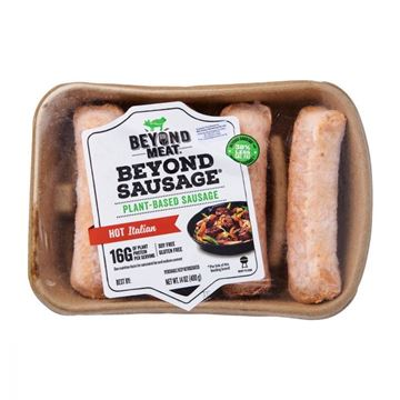 Picture of Beyond Meat Plant Based Sausage Hot Italian (Chilled)