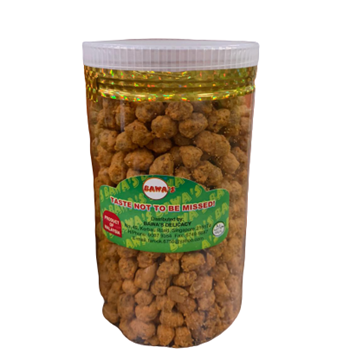 Picture of Bawa's Roasted Peanuts  With Curry Jar
