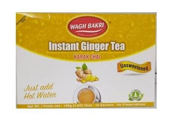 Picture of Wagh Bakri Ginger Chai 2 in 1 Instant Tea Premix Unsweetened