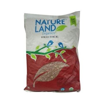 Picture of NATURELAND Red Rice Premium Quality (Certified ORGANIC)
