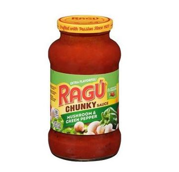 Picture of Ragu Chunky Sauce With Mushroom & Green Pepper