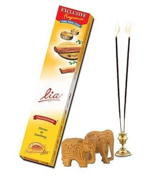 Picture of LIA Chandanam Divine & Soothing Exclusive Fragrance  Incense Sticks