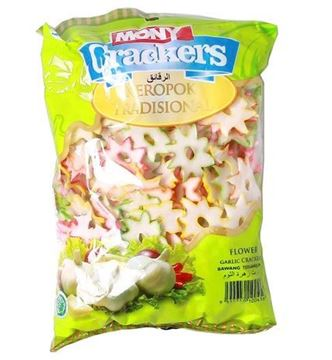 Picture of MONY Flower Garlic Crackers (Papad)