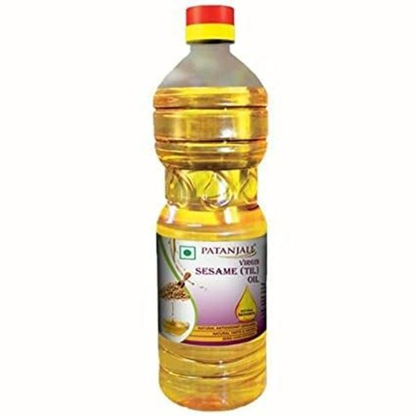 Picture of Patanjali Cold Pressed Virgin Sesame Oil