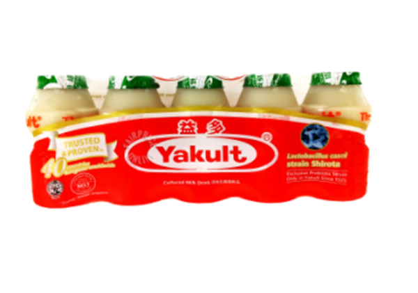 Picture of Yakult Cultured Milk Bottle Drink (Apple Flavor)