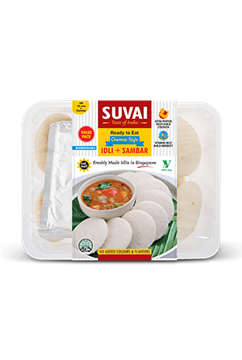 Picture of Suvai Cooked Idly With Sambar Combo