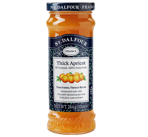 Picture of St Dalfour Thick Apricot Spread ( Jam)