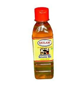 Picture of Akilam Wood/Cold Press Sesame/Gingelly Oil