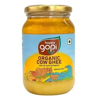 Picture of Happy Gopi Organic Cow Ghee (Certified ORGANIC)