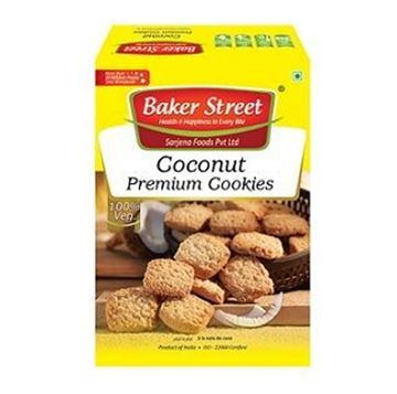 Picture of Baker Street Premium Coconut Cookies