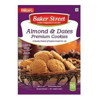 Picture of Baker Street Premium Almond & Dates Cookies