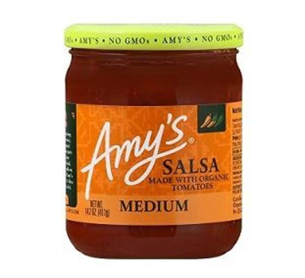Picture of Amy's Salsa Made With Organic Tomatoes Medium