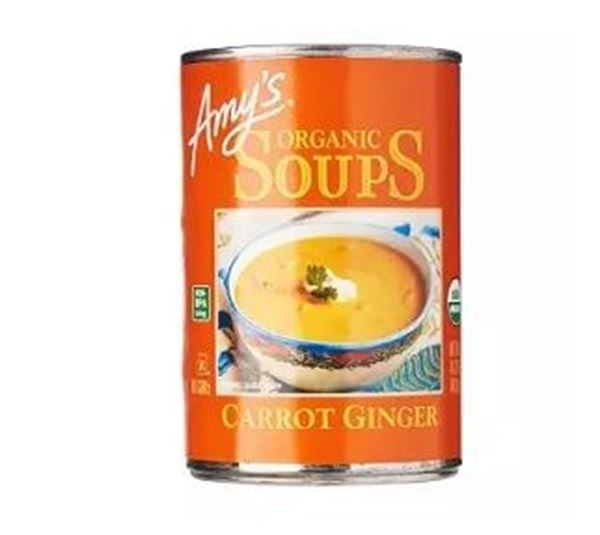 Picture of Amy's Organic Carrot Ginger Soup