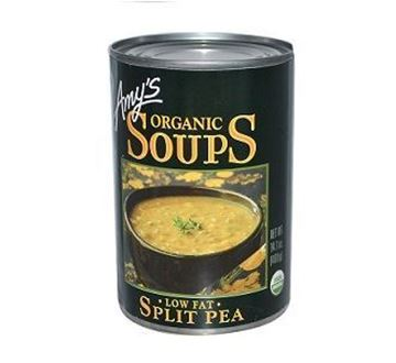 Picture of Amy's Organic Spilit Pea Soup